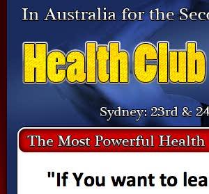 Live from the Australian Health Club Summit